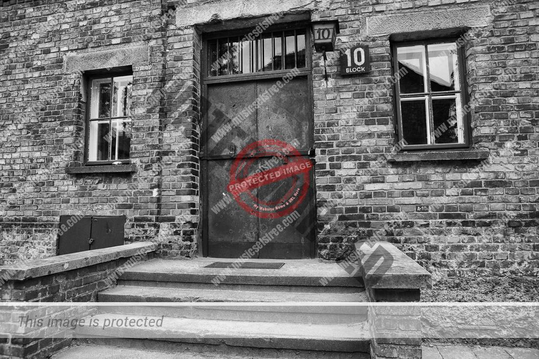 Block 10 was a cellblock at the Auschwitz Concentration Camp where women and men were used as experimental subjects for German doctors.