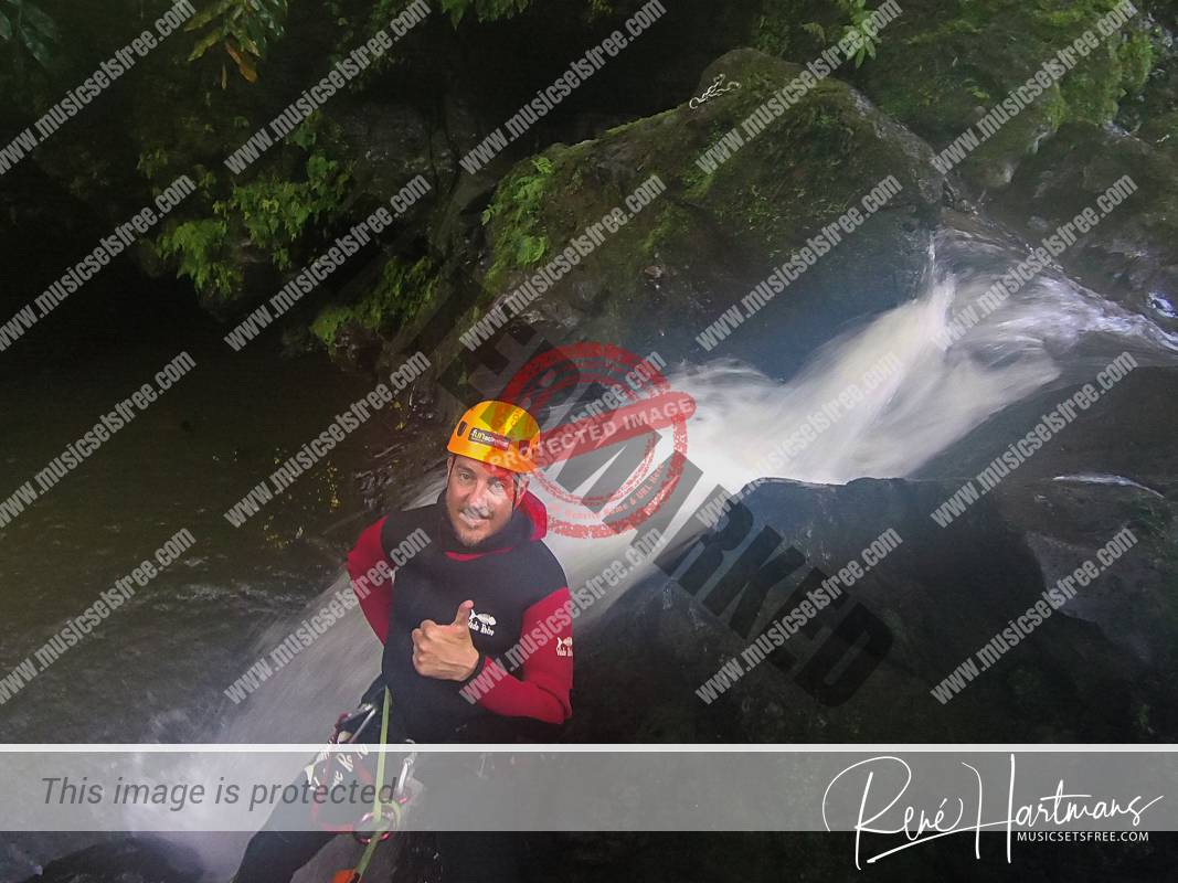 René Canyoning Azores